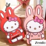 เคส ZenFone 5 อัสซุส ASUS Zenfone5 ซิลโคนคิตตี้สวมชุดกระต่ายสุดน่ารัก -B-