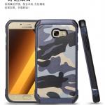 เคส Samsung A3 2017 เคสกันกระแทกแยกประกอบ 2 ชิ้น ด้านในเป็นซิลิโคนสีดำ ด้านนอกพลาสติกลายทหาร ลายพราง สวย แกร่ง ถึก ราคาถูก