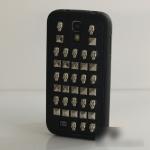เคส S4 Case Samsung Galaxy S4 เคสแนวโหดๆ ซิลิโคน TPU ตหแต่งด้วยหนามเหล็ก กระดุมโลหะ แนวพังค์ เท่ๆ