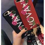 เคส OPPO R15 Pro ซิลิโคนสกรีนดอกไม้สวยงามมาก พร้อมสายคล้องสั้นหรือยาว (แล้วแต่ร้านจีนแถมมา) ราคาถูก