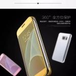 เคส Samsung Galaxy S7 แบบฝาพับเงางามสวยมากๆ ราคาถูก