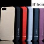 เคส iphone 5 / 5s motomo เคสแปะแผ่นโลหะเงาๆ มีลายเส้นโลหะเท่ๆ ราคาส่ง ขายถูกสุดๆ