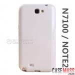 เคส Note 2 Case Samsung Galaxy Note 2 II N7100 เคสซิลิโคน TPU นิ่มๆ สีสวยๆ เงาๆ ไม่ทำให้ตัวเครื่องเป็นรอย the Note2 silicone mobile phone protective sleeve soft shell