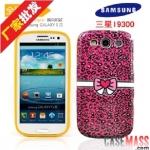 เคส S3 Case Samsung Galaxy S3 III i9300 เคสซิลิโคน TPU ลายเสือดาว คาดโบว์น่ารัก สวยๆ The Leopard Bow TPU paint glossy