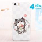 case iphone 4 เคสไอโฟน4s เคสลายน่ารักๆ หวานๆ ประดับมุกสี เพชรพลอยสีสวยๆ