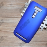 เคส Asus ZenFone 2 Laser 5.0 นิ้ว ZE500KL, ZE500KG พลาสติกสีพื้นเคลือบเมทัลลิค ราคาถูก