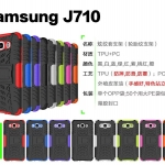 เคส Samsung J7 Version 2 (2016) เคสกันกระแทก สวยๆ ดุๆ เท่ๆ แนวอึดๆ แนวทหาร เดินป่า ผจญภัย adventure มาใหม่ ไม่ซ้ำใคร ตัวเคสแยกประกอบ 2 ชิ้น ชั้นในเป็นยางซิลิโคนกันกระแทก ครอบด้วยแผ่นพลาสติกอีก1 ชั้น สามารถกาง-หุบ ขาตั้งได้
