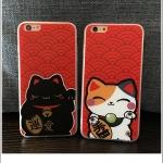 เคส iPhone SE / 5s / 5 พลาสติกลาย Lucky Neko นำโชค ราคาส่ง ขายถูกสุดๆ