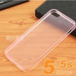 เคสไอโฟน5 / 5s เคสซิลิโคนใส นิ่มๆ โชว์ตัวเครื่อง สวยสุดๆ Ultra-thin TPU transparent Soft Cover ราคาส่ง ขายถูกสุดๆ