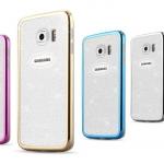Case Samsung S6 ซิลิโคน TPU ฟรุ้งฟริ้งขอบเคลือบเงาสวยงาม ราคาถูก