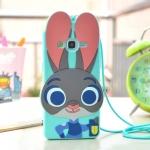 Case Grand Prime ซิลิโคน TPU 3 มิติ กระต่ายน้อยน่ารักมากๆ ราคาถูก (ไม่รวมสายคล้อง)
