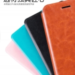 เคส Huawei Y6II แบบฝาพับหนังเทียม MOFI สุดคลาสสิคสวยหรูมากๆ ราคาถูก