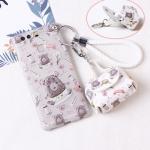 เคส Huawei P9 Plus พลาสติก TPU ลายการ์ตูนน่ารัก พร้อมสายคล้องมือและกระเป๋าเก็บสายหูฟัง ราคาถูก