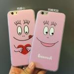 เคส iPhone SE / 5s / 5 พลาสติกลายการ์ตูนสีชมพูน่ารักมากๆ ราคาส่ง ขายถูกสุดๆ