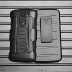 Case LG L Bello Dual เคสกันกระแทก สวยๆ ดุๆ เท่ๆ แนวถึกๆ อึดๆ แนวทหาร เดินป่า ผจญภัย adventure เคสแยกประกอบ 3 ชิ้น ชั้นในเป็นยางซิลิโคนกันกระแทก ครอบด้วยแผ่นพลาสติกอีก1 ชั้น กาง-หุบขาตั้งได้ มีปลอกฝาหน้าแบบสวมสไลด์ ใช้หนีบเข็มขัดเพื่อพกพาได้