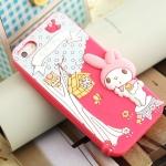 case iphone 5 เคสไอโฟน5 My Melody ซิลิโคน 3D น่ารักสุดๆ