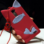 เคส OPPO R7 Plus ซิลิโคน TPU 3 มิติ แมวน้อยมีหูแสนน่ารัก ราคาถูก (ไม่รวมสวยคล้อง)