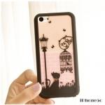 case iphone 5c เคสไอโฟน5c เคสแยกประกอบ 3ชิ้น ลายอาร์ตๆ สวยๆ Disney 86hero