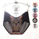 [Pre order] MM4308 กางเกงใน ลายหน้าแมว 3D เซ็กซี่ งานน่ารัก สไตล์ญี่ปุ่น