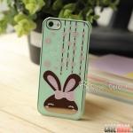 case iphone 5 เคสไอโฟน5 เคสลายกระต่ายลายเป็นกระจกเงาน่ารักๆ เคสมือถือราคาถูกขายปลีกขายส่