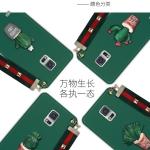 เคส Samsung Note 4 พลาสติกประดับต้นแคสตัส พร้อมสายคล้องมือ น่ารักมากๆ ราคาถูก