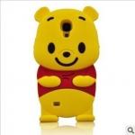 เคส S4 Case Samsung Galaxy S4 i9500 เคสหมีพู Pooh ซิลิโคน 3D น่ารักๆ
