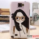 เคส Note 2 Case Samsung Galaxy Note 2 II N7100 HAPPYMORI ประดับตกแต่งด้วยของน่ารักๆ งาน handmade สวยๆ