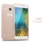 เคส Samsung Galaxy A5 2016 ขอบเคสโลหะ Bumper + พร้อมแผ่นฝาหลัง ราคาถูก