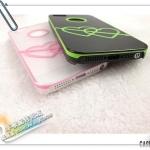 case iphone 5 เคสไอโฟน5 ลายลูกศรปักหัวใจคู่ มีรูโชว์โลโก้ สีตัดขอบ Cupid Arrow