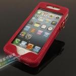 case iphone 5 เคสไอโฟน5 เคสซองหนังขนาดพอดีกับตัวเครื่อง กระดุมทอง สวยๆ ใส่แล้วดูหรูหรา ไฮโซ German Melkco iPhone5 holster