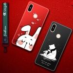 เคส Xiaomi Mi Mix 2S เคสซิลิโคน ลายการะต่าย และ ลายหมี พร้อมสายคล้องสวยๆ แนวคุณหนู น่ารักมากๆ