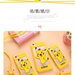 Case iPhone SE / 5s / 5 ซิลิโคน 3 มิติ ด้านหลังโปร่งโชว์ตัวเครื่องลายการ์ตูน น่ารักมากๆ ราคาถูก