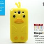 เคส S3 Case Samsung Galaxy S3 เจ้าเป็ดคิอิโระอิโทะริ 3D (เพื่อนของ Rilakkuma) Kiiroitori silicone case