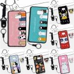 เคส Samsung Note 5 ซิลิโคน soft case สกรีนลายการ์ตูนน่ารักๆ พร้อมสายคล้องและแหวน ราคาถูก