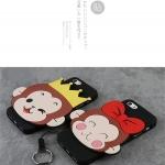 Case iPhone SE / 5s / 5 ซิลิโคน soft case การ์ตูนน่ารักๆ สุดฮิต ราคาถูก (ไม่รวมสายคล้อง)