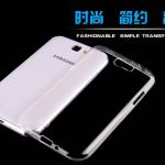 Case Samsung Galaxy Note 2 ซิลิโคน TPU แบบใสบางเฉียบโชว์ตัวเครื่องได้เต็มที่ Super Slim ราคาถูก ราคาส่ง