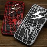 case iphone 5 เคสไอโฟน5 เคสลาย Spider-Man 3D เป็นรูปแมงมุมและใยแมงมุม 3D นูนๆ สวยๆ ดุๆ ด้านในมีแผ่นตาข่ายเพิ่มความสวยและความดุอีก 1 ชั้น The new Lightning Spider-Man protective shell hollow