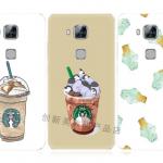 Case Huawei GR5 พลาสติก TPU ลายกาแฟแสนน่ารัก น่ากินมากๆ ราคาถูก