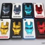 เคสไอโฟน4 4s IRON MAN 3D หน้ากากพลาสติกทำเป็นโลหะเงาๆ เท่ๆ สวยมากๆ