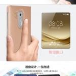 เคส Huawei Mate 8 แบบฝาพับโชว์หน้าจอ สีเมทัลลิค สวยงามมาก ราคาถูก