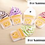 เคสซัมซุงเอส4 Case Samsung Galaxy S4 i9500 ไอศกรีมครีมโคนซอฟต์เสิร์ฟ ไอติมซอร์ฟครีม Softserve-Icecream Silicone 3D เคสมือถือ ราคาถูก ขายส่ง