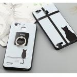 เคส Huawei GR3 พลาสลิก TPU ลายแมวน้อย พร้อมแหวนสำหรับตั้ง ราคาถูก (ไม่รวมสายคล้อง)