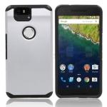 Case Huawei NEXUS 6P เคสกันกระแทกแยกประกอบ 2 ชิ้น ด้านในเป็นซิลิโคนสีดำ ด้านนอกพลาสติกเคลือบเงาโลหะเมทัลลิค สวยมากๆ เท่สุดๆ ราคาถูก