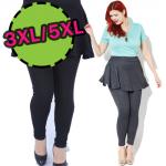 [พร้อมส่ง] PK7715 เลกกิ้งกระโปรง ทรงทวิล สำหรับสาว Plus Size