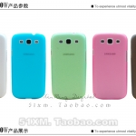 เคส s3 Case Samsung Galaxy s3 III i9300 เคสพลาสติกโปร่งแสง แบบ บางๆ 0.4mm ultra-thin thickness