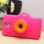 เคสซัมซุงโน๊ต3 Case Samsung Galaxy note 3 เคสทำเป็นกล้องถ่ายรูป น่ารักๆ กลมๆ มนๆ South Korean Samsung note3 creative new cameraเคสมือถือราคาถูกขายปลีกขายส่ง