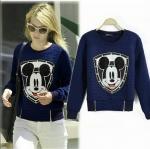[Pre-order] MM3028 เสื้อกันหนาว แขนยาว ลายมิกกี้เมาส์ Mickey Mouse