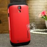 case S4 เคส Samsung Galaxy S4 i9500 Spigem SlimArmor เคส 2 ชั้น ชั้นในเป็นซิลิโคนนิ่มๆ ไม่ทำให้ตัวเครื่องเป็นรอย หุ้มด้วยพลาสติกสีตัดกับขั้นใน สวยๆ เท่ๆ กันกระแทกได้ดี color silicone cover shell mobile phone
