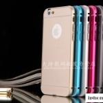 เคส iphone 6 plus (5.5) ขอบเคสโลหะ + PC สวยหรูดูดี ราคาถูก
