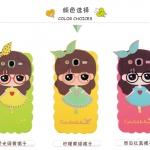 เคส Samsung Galaxy Mega 5.8 ซิลิโคนเด็กผู้หญิงน่ารักสดใสมากๆ ราคาถูก
